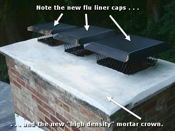 Md Chimney Crown Chimney Crown Repair Chimney Cap