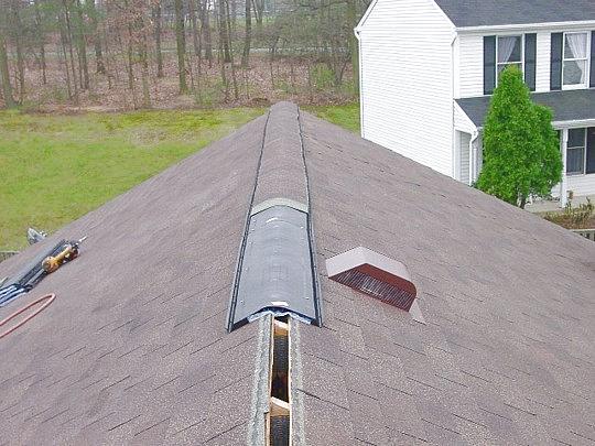 Md Shingle Vent Ii Ridge Vent Maryland Roofers